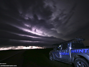 Monster Shelf Cloud in Nebraska