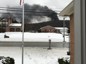 Fire in Finleyville