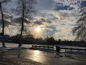 Sunset at Derryfield Park