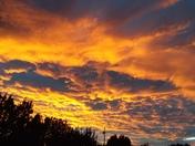 Sunset in La Manga NM south of Las Vegas