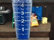 24 hour rain total in Land Park