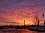 Olathe sunrise Jan 9, 2018