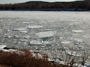 Ice Flows on the Cape Cod Canal