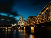 Bridge in Cologne Germany