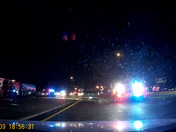 Accident at 152 Bridge over highway 35 in Liberty tonight