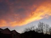 January 9th Sunset Sky