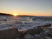 Cape Cod in Brewster MA Winter Tundra
