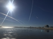 Some neat photos I took today on a beautiful day at Old Orchard Beach.