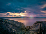 Blue Rocks Sunrise