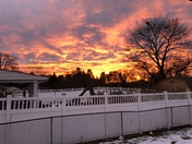 Forget red sky in the morning.  More like Sky On Fire