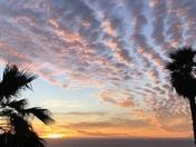 Sunset from Carmel Highlands January 11, 2018