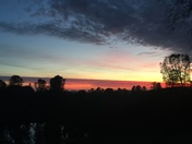 Tuolumne sunset