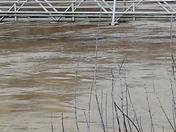 Flood water in Butler