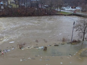 Flooding in New Bethlehem, PA (Clarion County) 1/12/18 3PM