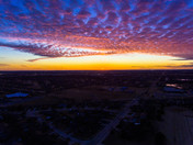 tonights sunset in moore ok