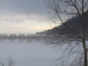 Fog on the Susquehanna