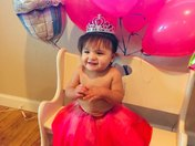 Amaya Joy Martinez First birthday is Jan 17th