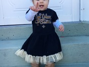 My great grand daughter Alora Cagins from Lafitte has no doubt who's #1