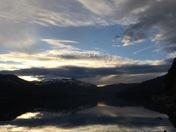 Donner Lake at dusk