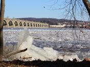 Susquehanna river Ice