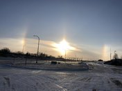 Sun Dogs are out to play!
