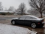 snow in Ponca City