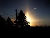 Sun Dogs On The Riverside