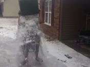 Snow bucket challenge