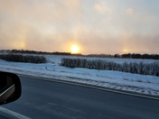 Sundog near Ames. IA