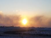 Smokin' Cold Sunset