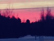 Sunrise on 1/15/18 this morning