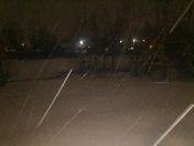 Snowing in Radcliff