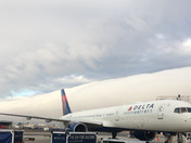 Cold Front Arrives at MSY