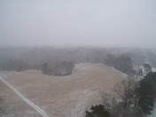 Drone footage of the snow from Yazoo County