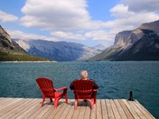 Red Chairs, Banff Style! Banff National Park