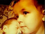 Grandchildren Bentley and Lucas
