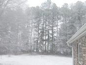 January 17th Snow in South Carolina 2018