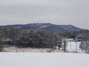 North side of Paris Mountain from my front yard