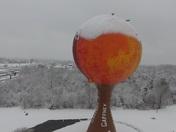 Snowy Peachoid