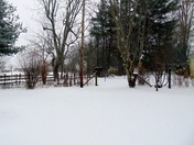 Snow In Glade Valley, NC January 17, 2018