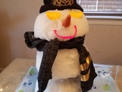 Our Black and Gold Frosty