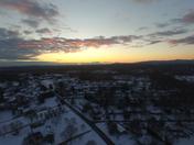 Greer SC at sunset