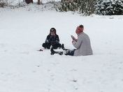 Just a little talk in the snow