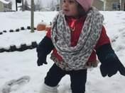 Kyleigh 1st Snow Day❄