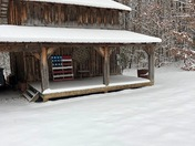 Snow in Walnut Cove.