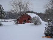 Snow day Blue Ridge area, Greer