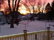 Iowa sunrise.