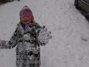 Logan, Raegan and Grayson's Snow day!