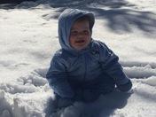 Remington Eli's second snow ❄️