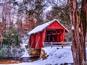 Campbell's Covered Bridge in Greenville, SC. Taken by Kirk Schanze